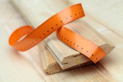 Sawn timber Stock Photo