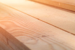 Sawn timber close-up Stock Images