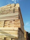 Sawn timber Royalty Free Stock Photos