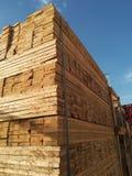 Sawn timber Stock Images