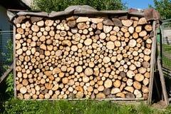Sawn timber stock Stock Photo