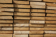 Sawn wood background Royalty Free Stock Images