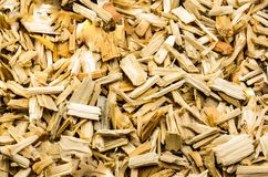 Sawn wood cut piled Royalty Free Stock Photos