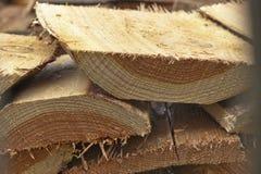 Sawn wood Stock Image
