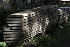 SAWN WOOD Stock Images