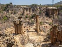 Sławni Hoodoos w Iringa, Tanzania Zdjęcia Stock