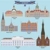 Sławni miejsca w Niemcy Zdjęcia Royalty Free