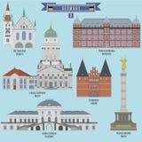 Sławni miejsca w Niemcy Obrazy Royalty Free
