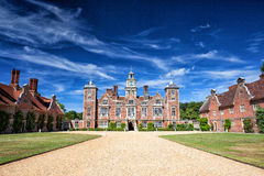 Sławny Blickling Hall w Anglia Obraz Royalty Free