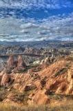 Sławny miasto Cappadocia w Turcja Fotografia Stock