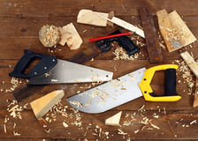 Saws Stock Photography
