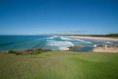 Sawtell ocean beach Stock Image