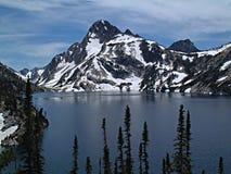 Sawtooth湖3 库存图片