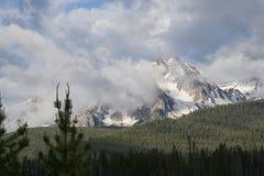 Sawtooth góry 2054 Zdjęcia Stock
