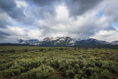 Sawtooth Mountain Range, Idaho Stock Photos