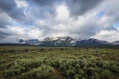 Sawtooth Mountain Range, Idaho Stock Photos
