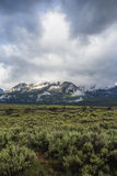 Sawtooth Mountain Range, Idaho Royalty Free Stock Photography