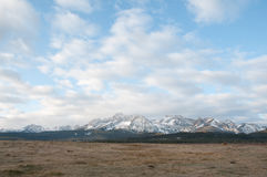 Sawtooth Mountains Stock Photography