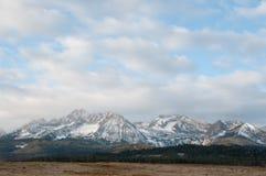 Sawtooth Mountains Stock Photo