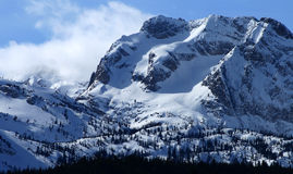 Sawtooth Peaks 3 royalty free stock photography