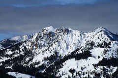 Sawtooth Peaks royalty free stock photo