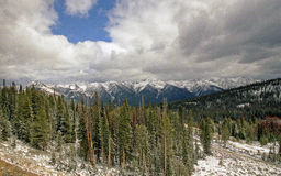 Sawtooth range Royalty Free Stock Photo