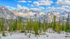 Sawtooth Range, Sawtooth National Recreation Area, ID Stock Image