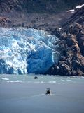 Sawyer Glacier, Alaska Royalty Free Stock Images