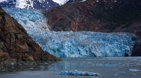 Sawyer Glacier Royalty Free Stock Images