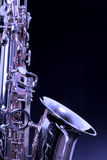 Sax. Let's play the real heart of jazz the sax Stock Photos