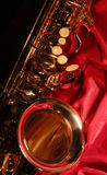 Sax. Let's play the heart of jazz the saxophone Royalty Free Stock Photography