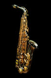 Sax in Black Series - 1 Royalty Free Stock Photos