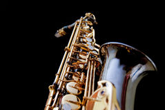 Sax in Black Series - 2 Stock Photography