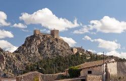 Sax Castle Spain Royalty Free Stock Photo