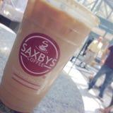 Saxbys Coffee. Coffee tea iced Royalty Free Stock Photography