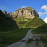 Saxer πρώτα, βουνό σε Appenzell Στοκ εικόνες με δικαίωμα ελεύθερης χρήσης