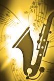 SaxMusic Stock Photo