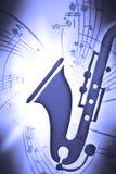 saxmusic διανυσματική απεικόνιση