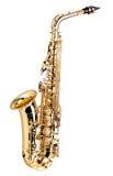 Saxofón foto de archivo