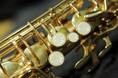 Saxofón Imagenes de archivo