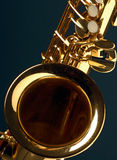 Saxofón imagen de archivo libre de regalías