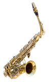 Saxofón Imágenes de archivo libres de regalías
