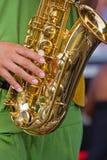 Saxofone Fotografia de Stock Royalty Free
