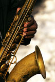 Saxofone Foto de Stock Royalty Free