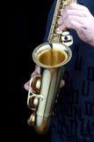Saxofone Imagens de Stock Royalty Free