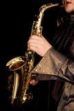 Saxofone Fotos de Stock Royalty Free
