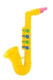 Saxofone das crianças Imagem de Stock Royalty Free