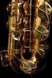 Saxofone do conteúdo Imagem de Stock
