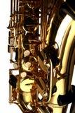 Saxofone do conteúdo Fotos de Stock