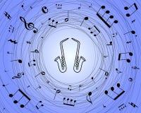 Saxofones Imagen de archivo libre de regalías